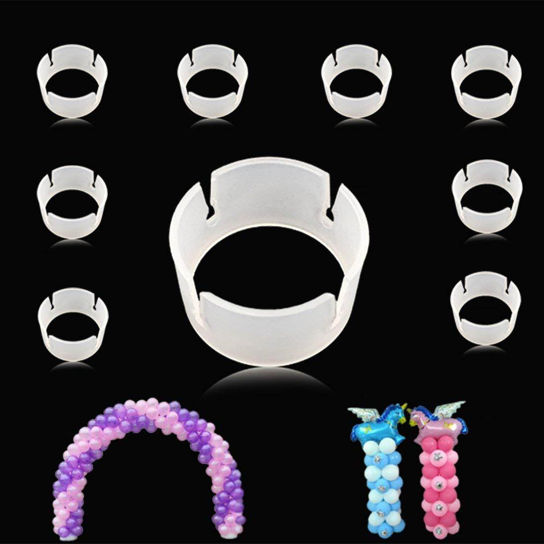 100pcs Balloon Ring Clips for Balloon Arch and Balloons Column Stand Party Decoration Accessory Balloon Buckle