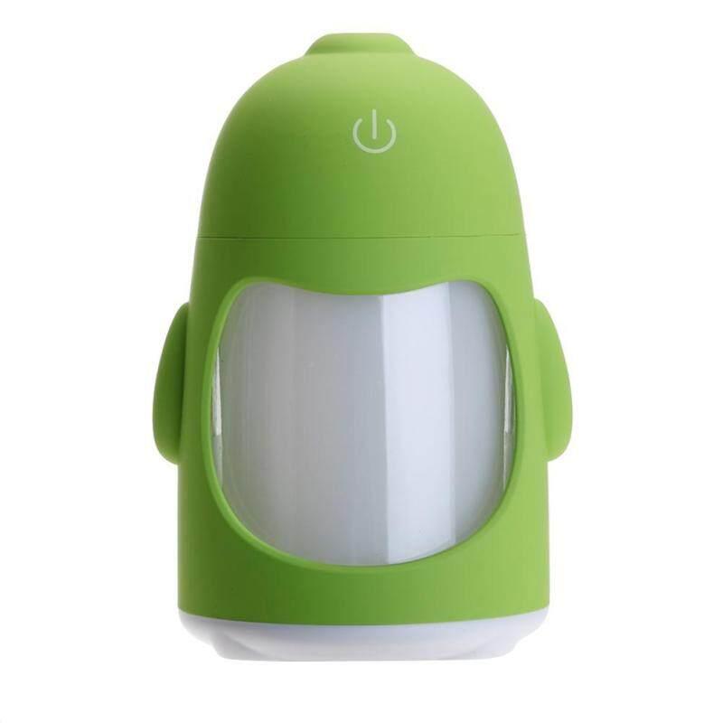Bảng giá Cute Mini Penguin Shaped Air Freshener Night Light Humidifier Home Office - intl