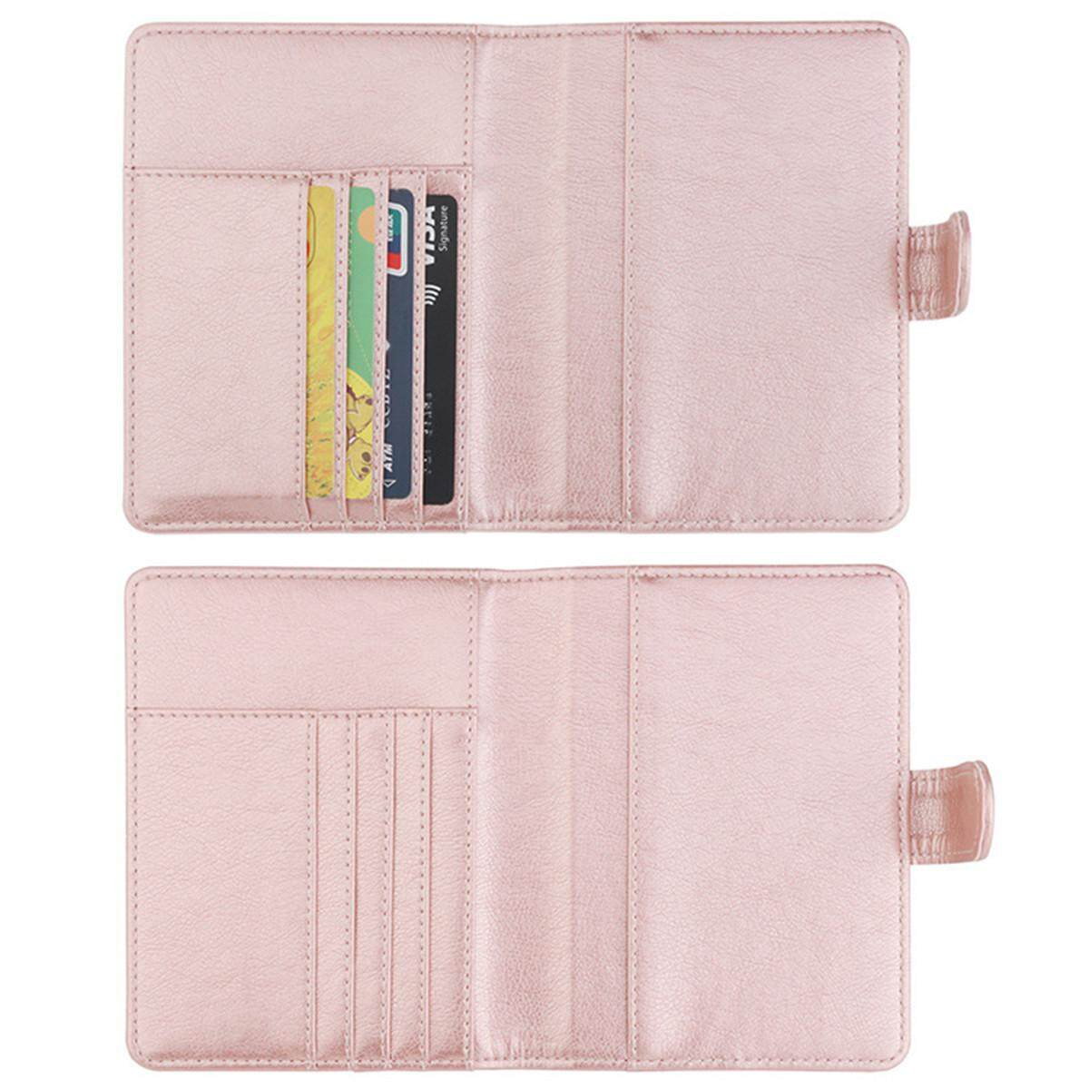 ... Passport Holder Wallet Cover Case RFID Blocking Travel Wallet #Rose Gold - intl - 4