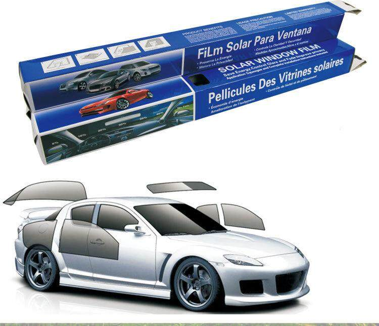 Hiqueen 0.5*3m Auto Car Solar Pet Uv Proof Solar Tint Film For Car Window Tops Models:35% (0.5*3m) By Hiquuen.