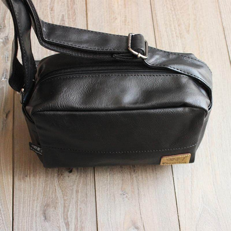 Mini Sling Bag men (Leather) Travel bag