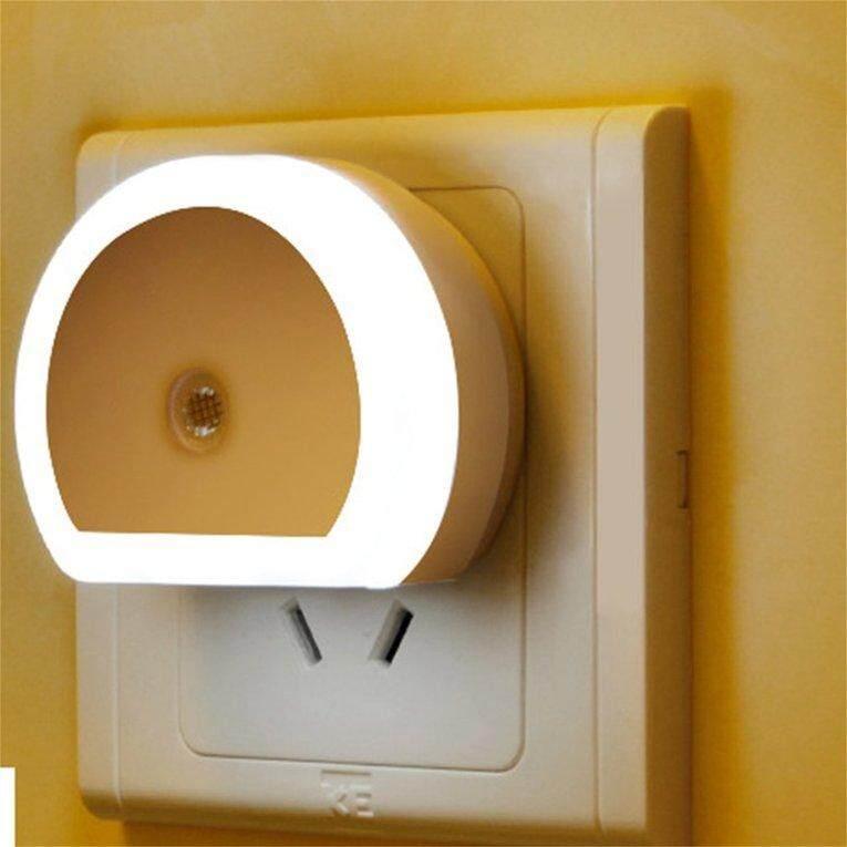 ANEXT Light Control Night Lamp LED Night Light With Dual USB Wall Charger Plug EU Plug - intl Singapore