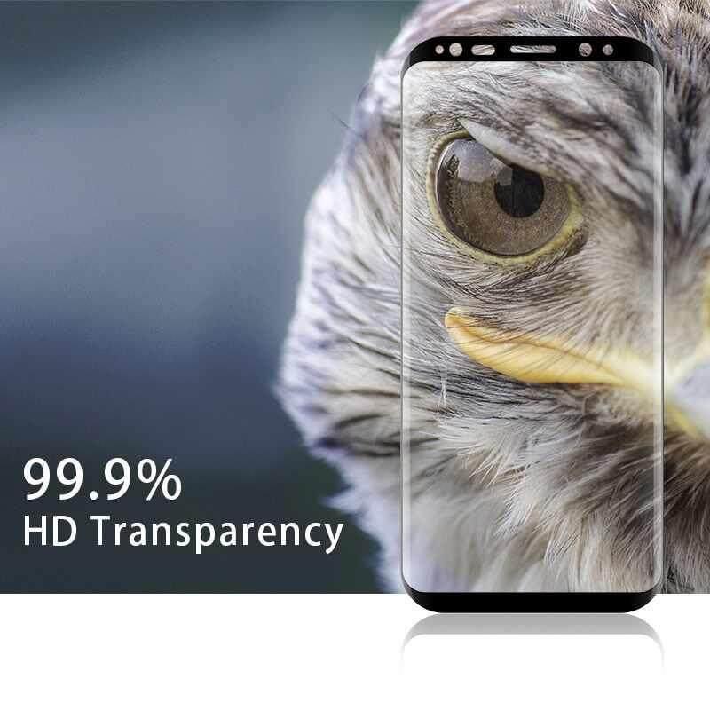 Brisky Lembut Peliharaan Layar Pelindung untuk Samsung Galaksi Galaxy S8 Plus Anti-Menggaruk Penuh Penutup