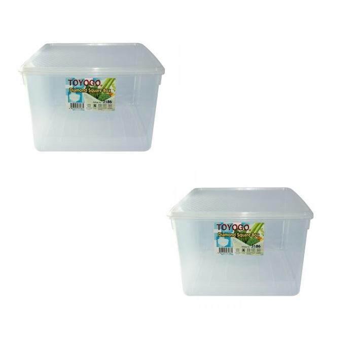 (LZ) 17 Lit Toyogo 31 series 86 Diamond Container Set of 2