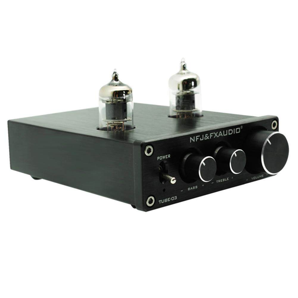 TUBE-03 HIFI Buffer 6J1 Tube Pre-amplifier Music Amplifier with Treble Bass - intl ...