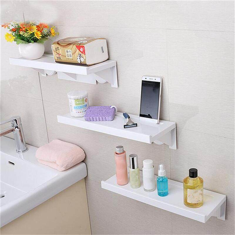 (photo)corner Holder Rectangle Shelf Wall Mounted Bathroom Shower Storage By Moonbeam