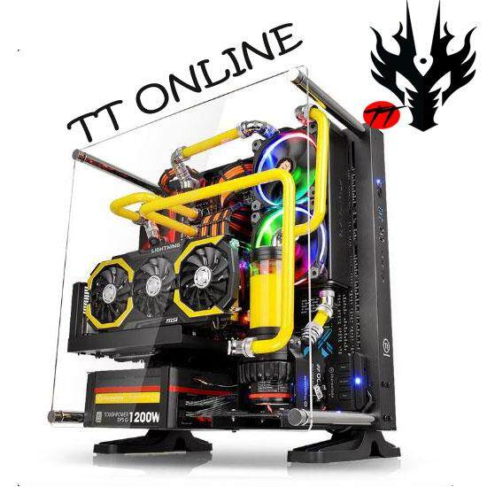 THERMALTAKE GAMING Casing ATX CORE P3 (CA-1G4-00M1WN-00) BLACK Malaysia