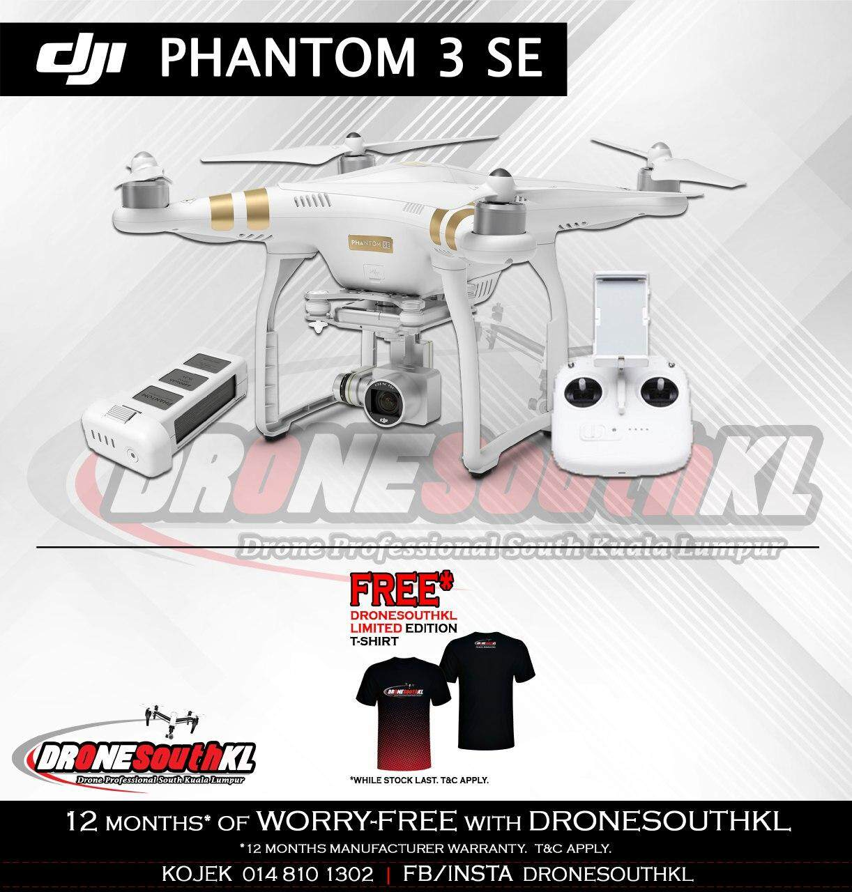 Features Dji Phantom 3 Se Wifi Fpv 4k Uhd Camera Drone Free
