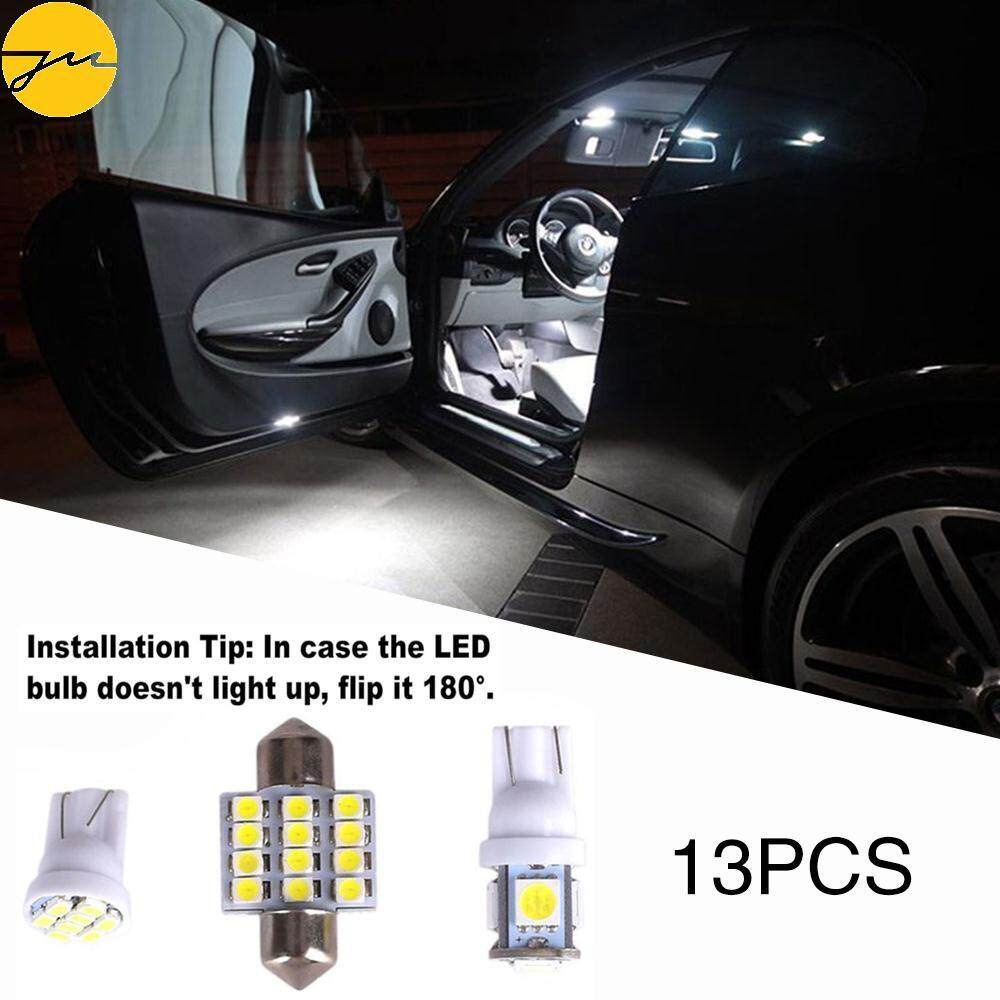 Buy Sell Cheapest Jms Led Car Best Quality Product Deals Plafon Kabin Universal 6 License Plate Lamps Interior Mini 13pcs Abs 5smd Leds