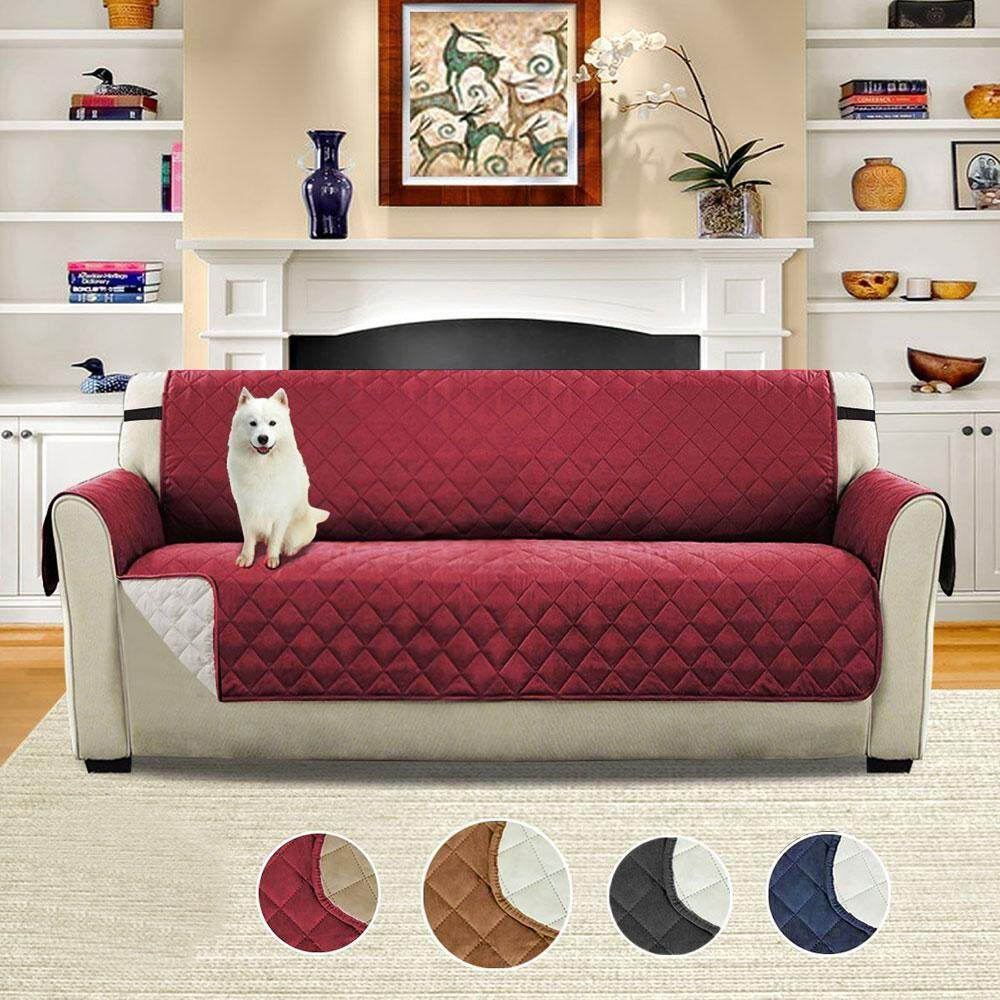 leegoal Three Person Waterproof And Slippery Sofa Cushion Pet Protection Cover (Pongee + + PP Cotton Non-woven Fabric, Of Bangdai, 110x76inch) - intl