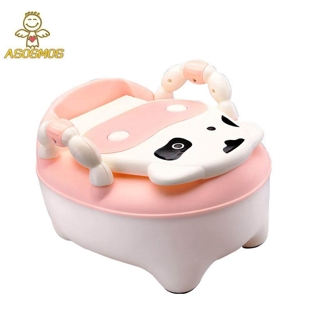 Asm Children Baby Potty Training Cows Boy Girl Portable Toilet Seat Infant Potty Toilet Pot By Asosmos.