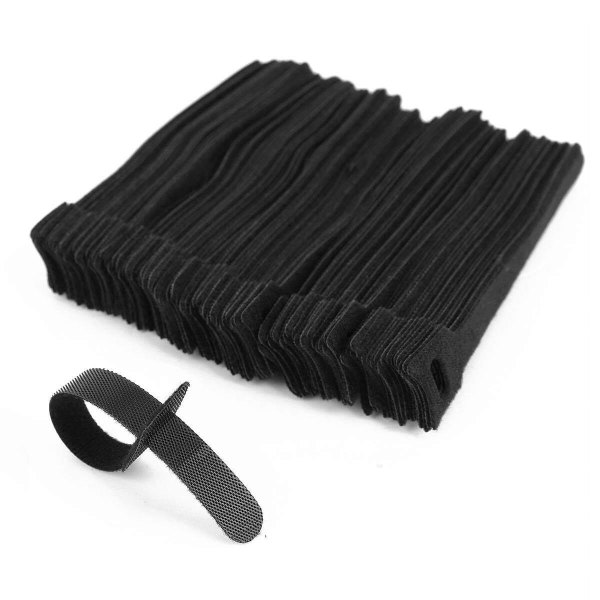 100 x adjustable black nylon cable tie L 15cm - intl