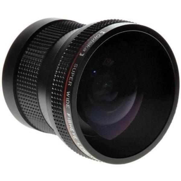 Opteka 0.20X Profesional Super AF Fisheye Lensa untuk Nikon D4s, D4, D3x, DF, D810, d800, D750, D610, D600, D7200, D7100, D7000, D5500, D5300, D5200, d5100, D3300, D3200 dan D3100 Digital SLR Kamera-Internasional