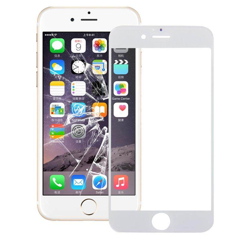 Depan Kerangka LCD Bingkai untuk iPhone 6 S Plus (Putih)