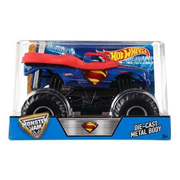 Hot Wheels Monster Jam 1:24 Scale Man of Steel Superman Vehicle - intl