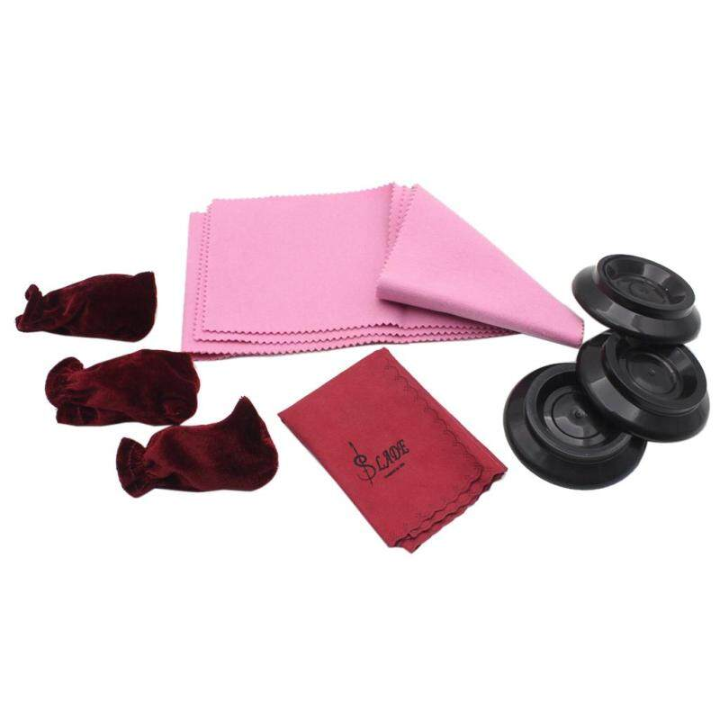 Miracle Shining SLADE 4 Pieces Piano Cleaning Care Kit Piano Cloth +Cover+Piano Caster Cup Malaysia