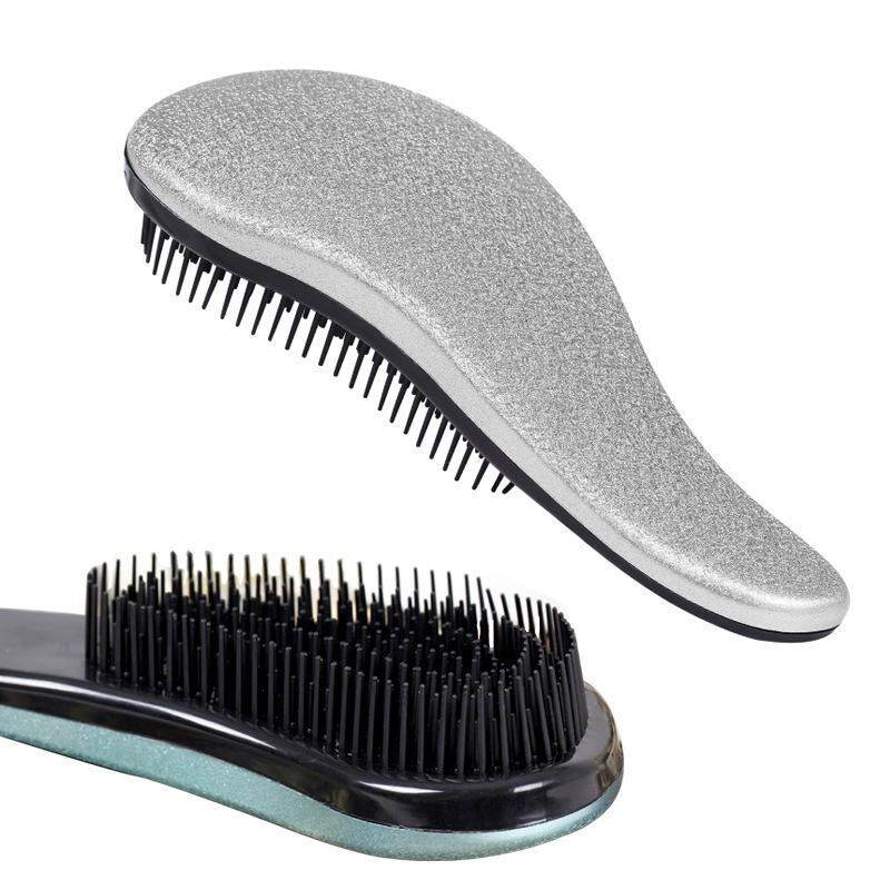 Rp 70.000. RHS Online Anti-Statis Sihir Detangling Pegangan Rambut Sisir Comb Salon Gaya Kusut Sisir Rambut (Perak) ...