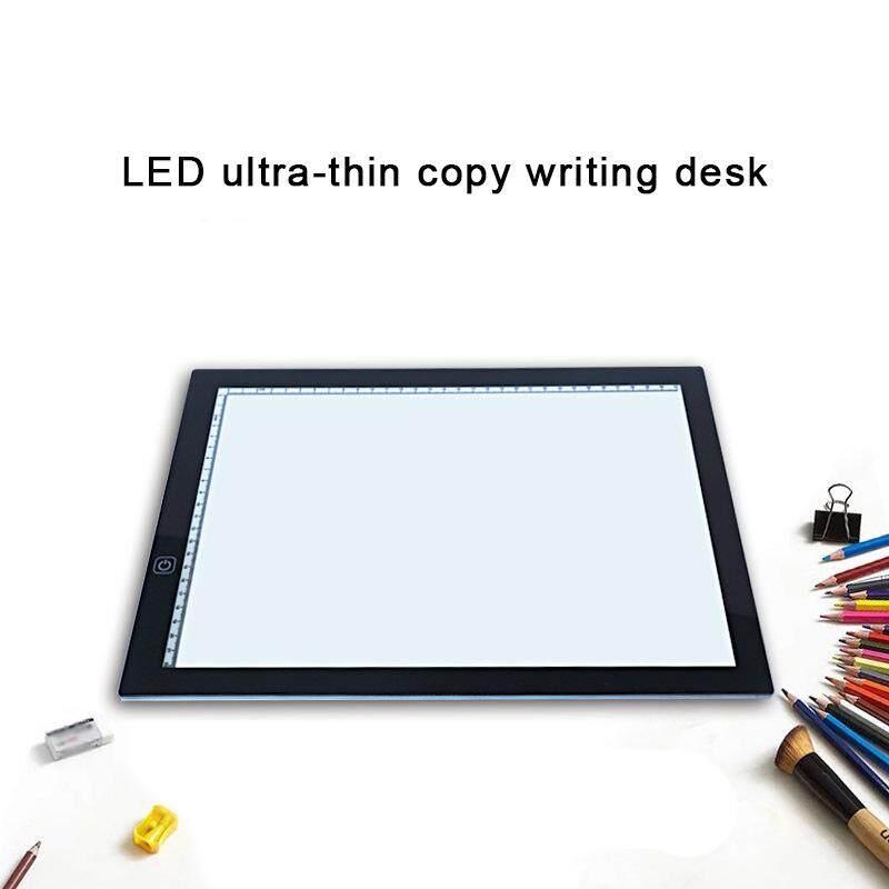 DE Portable A3 LED Light Pad Box Drawing Copy Board Drafting Graphics Tablet - intl