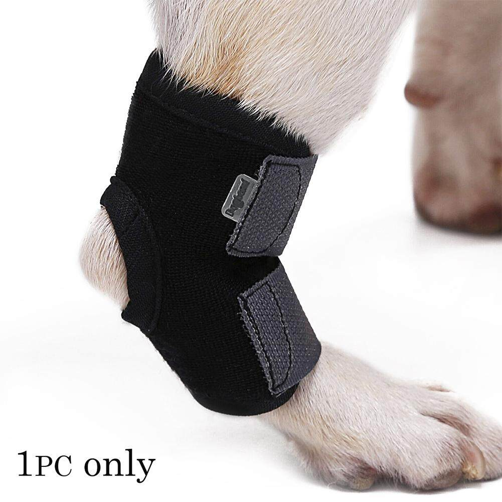 Big House Pet Wound Bandage Dog Leg Brace Cat Animal Self Adherent Wrap Prevent Pet Licking Wound 1pc Stype:black(s) By Big House.