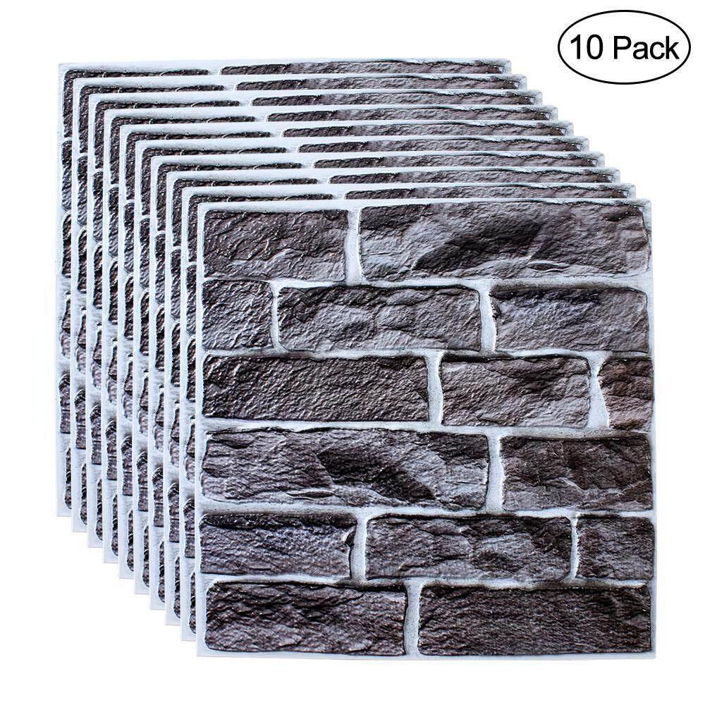 Chiants 3D Tile Sticker Bumper Sticker PVC Wall Sticker