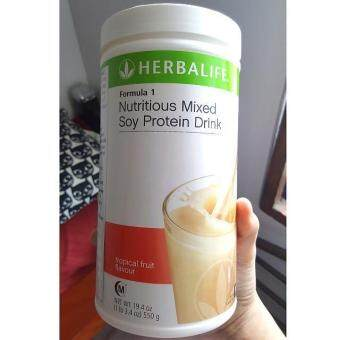 Herbalife formula 1 Tropical Fruit Canister 550g (Ready stock)