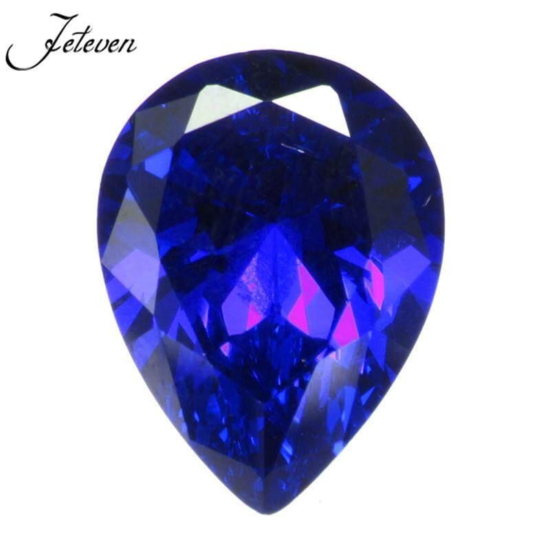 Đinh Vàng UHA 16.87ct Xanh Hoàng Gia Sapphire 13x18mm Lê Cắt AAAA + Rời Đá Quý