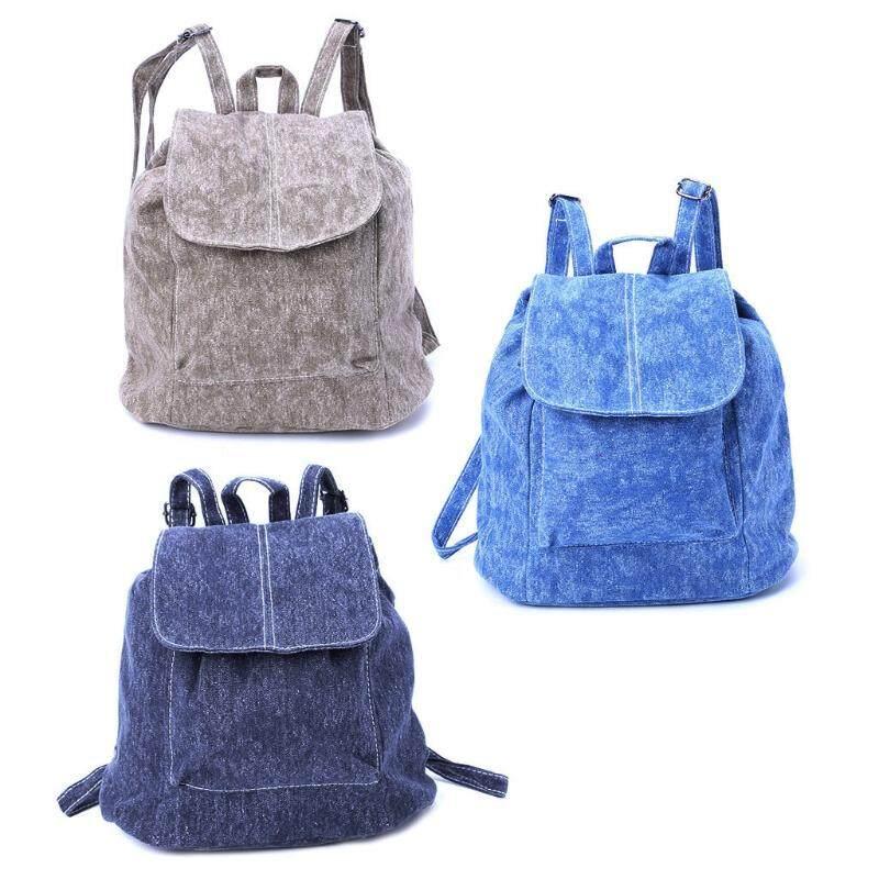 THINKTHENDO Women Girls Shoulder Bag Backpack School Travel Fashion Satchel Rucksack Daypack - intl