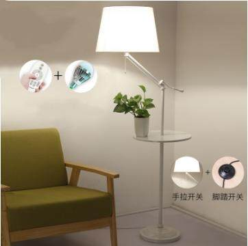 American Living Room Wrought Iron Floor Lamp Light Simple Modern Bedroom Bedside Sofa Coffee Table Lamp