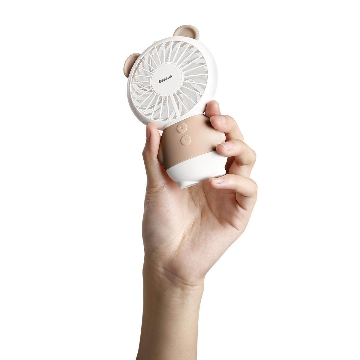 Baseus CXBER Portable USB Mini Handheld Fan Ajustable Rechargeable Quiet Cooling