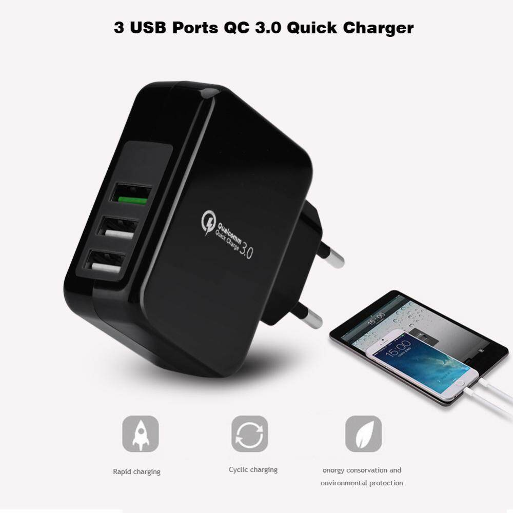 Fitur Tronsmart Quick Charge 3 0 Usb Rapid Wall Charger Stand Up 30 42w Port W3pta Qualcomm Certified Eu 5v 3a 23w Qc30 Ports
