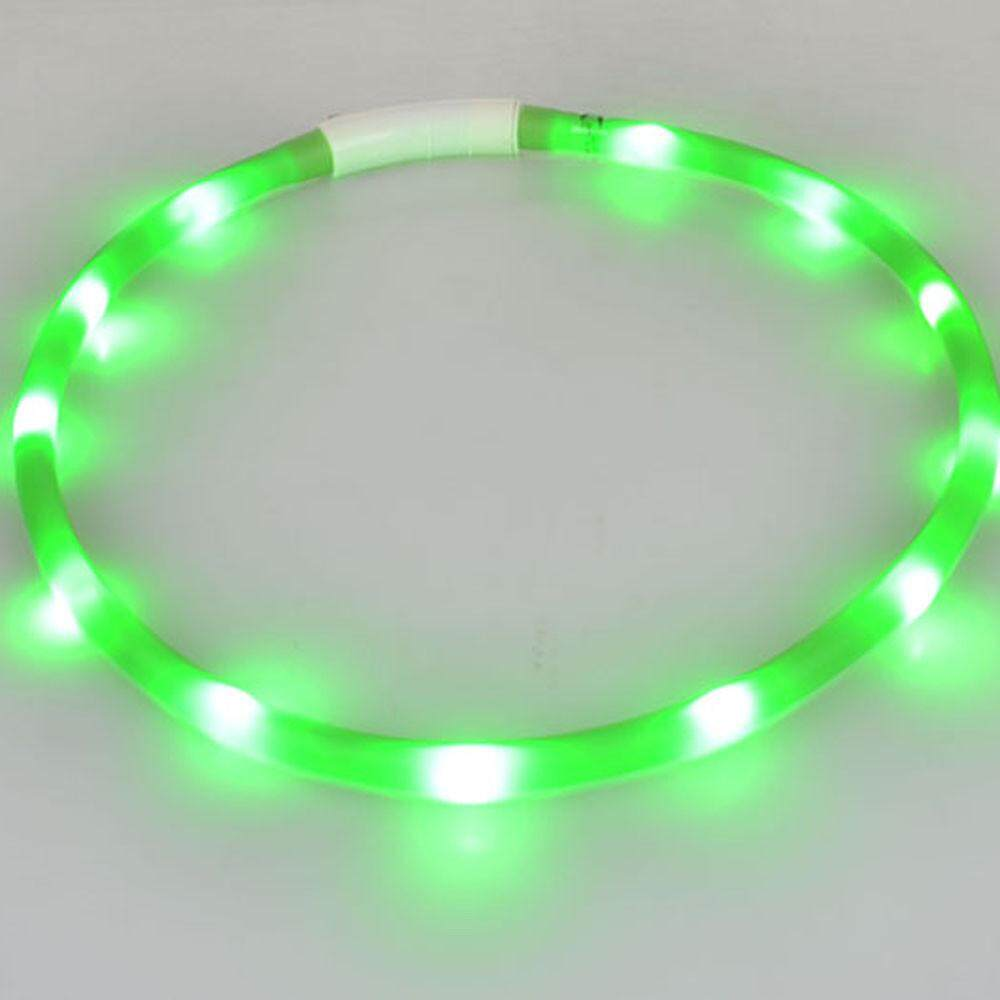 coconie Rechargeable USB Waterproof LED Flashing Light Band Safety Pet Dog Collar - intl
