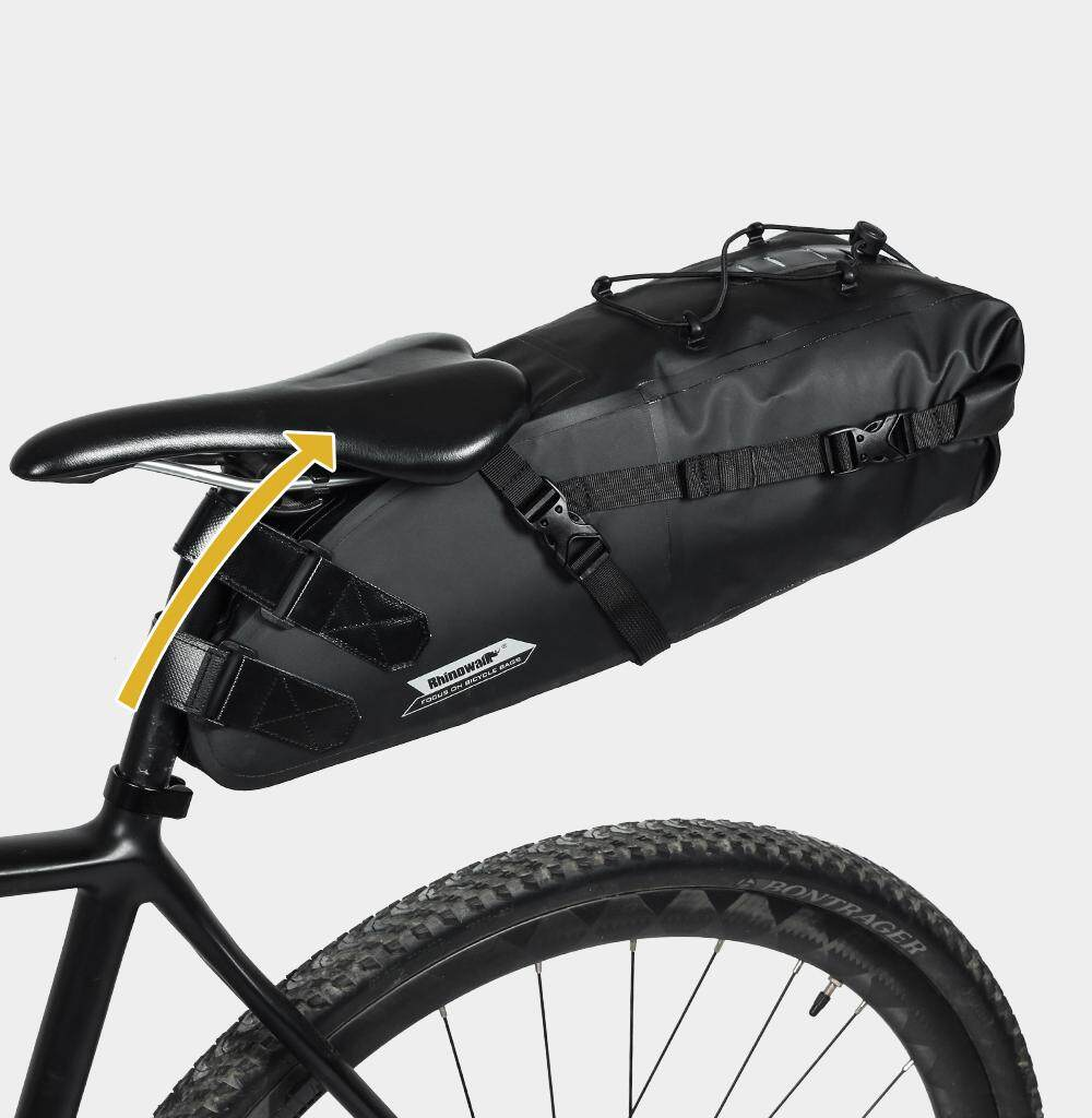 0cc85887196 RHINOWALK 2018 Full Waterproof 10L Bicycle Saddle Bag Cycling Bag Bike Rear  Tail Bag