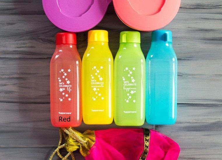 Tupperware Sip and Shine Celebration Bottle (1)pc 500ml only-Oversea Stock - Choose Color