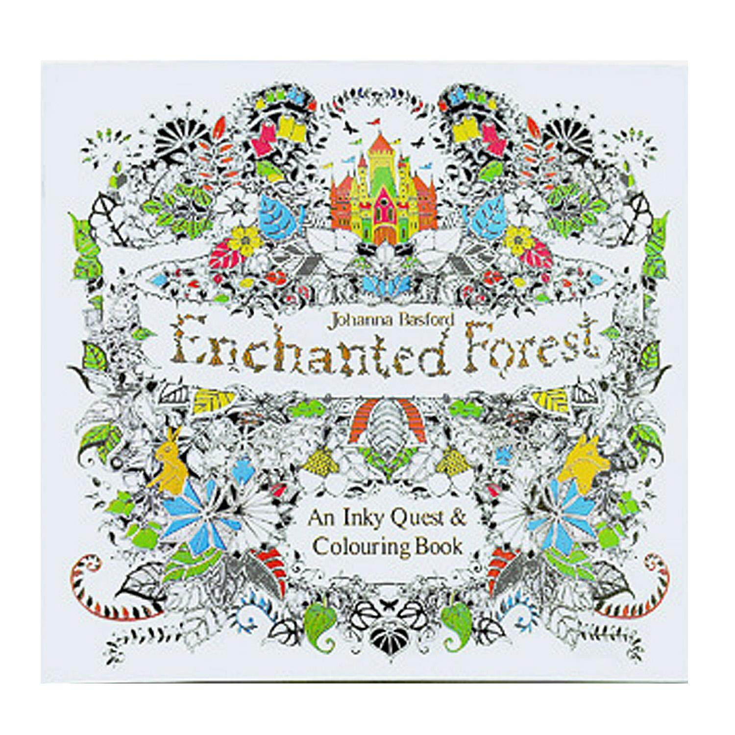 Painting Coloring Book Paper For Stress Relieving Meditation Relaxation Children Kids Boys Girls Adults A