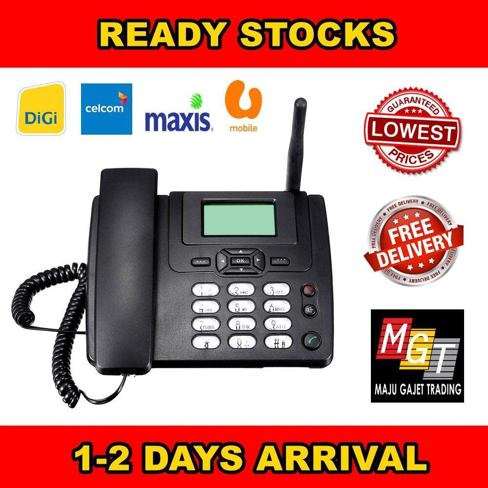Landline Phones With Best Price At Lazada In Malaysia Wiring A Touch Tone Pad To Any Antique Telephone Phone Conversion Cheapest Gsm Wireless Desktop Portable Desk Support Sim Card Call Sms Fm Radio