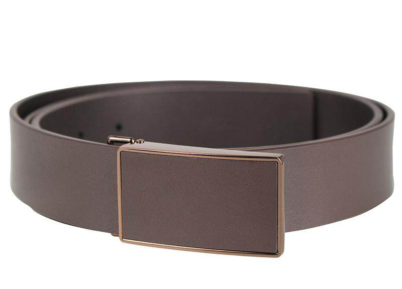 Tomaz NT36 Leather Belt (Coffee)