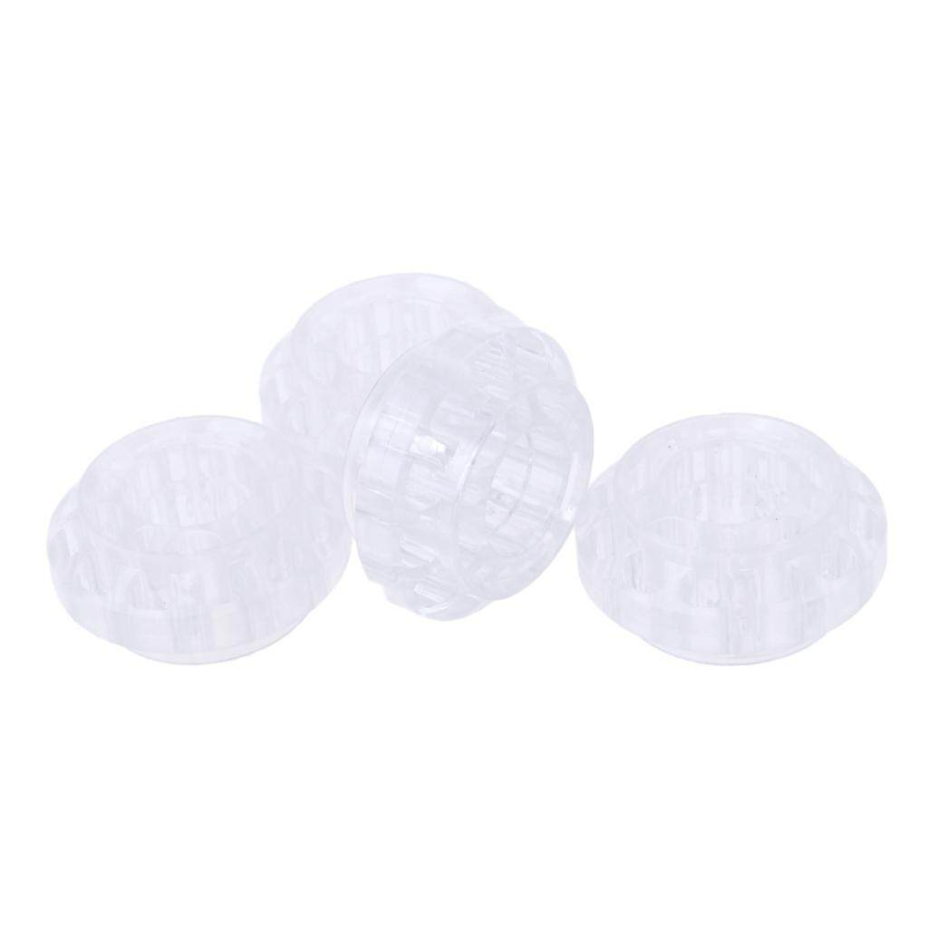 MagiDeal 4pcs Inline/Roller/Hockey Skate Replacement PU Wheel 55 x 25mm - Transparent