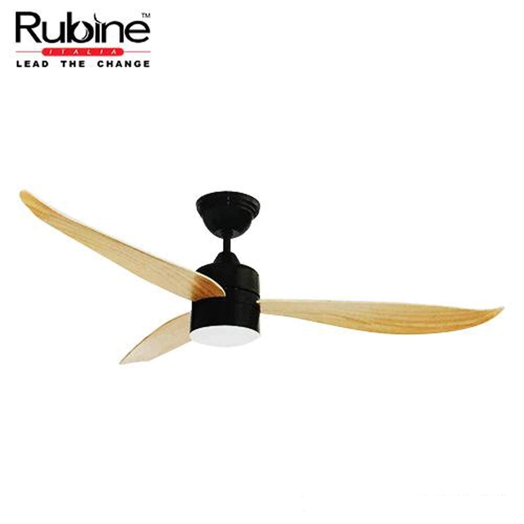 Rubine Ceiling Fan Rcf Vasto56 3bl Pw 56