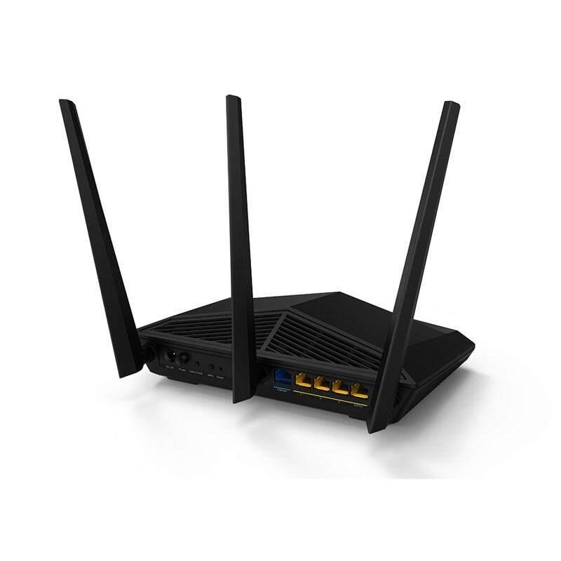 Tenda AC18 AC1900 1900Mbps Smart Dual Band Gigabit WiFi Wireless Router for Unifi Maxis Time (4 Gigabit Ports 1 USB3.0)