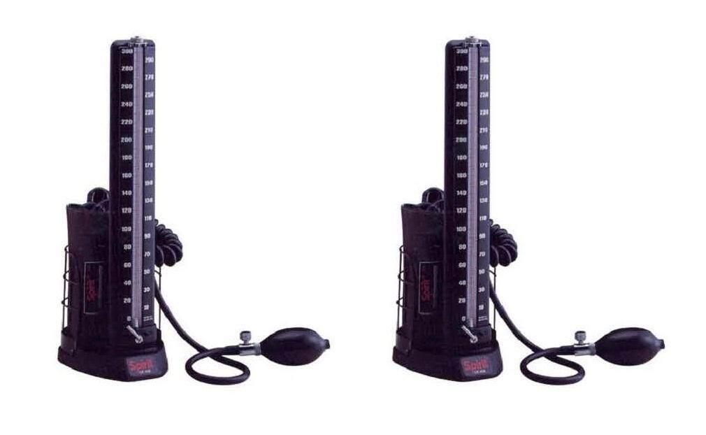 2 Set (Original) Spirit CK-403 Table Top Mercurial Sphygmomanometer (Warranty One Year)