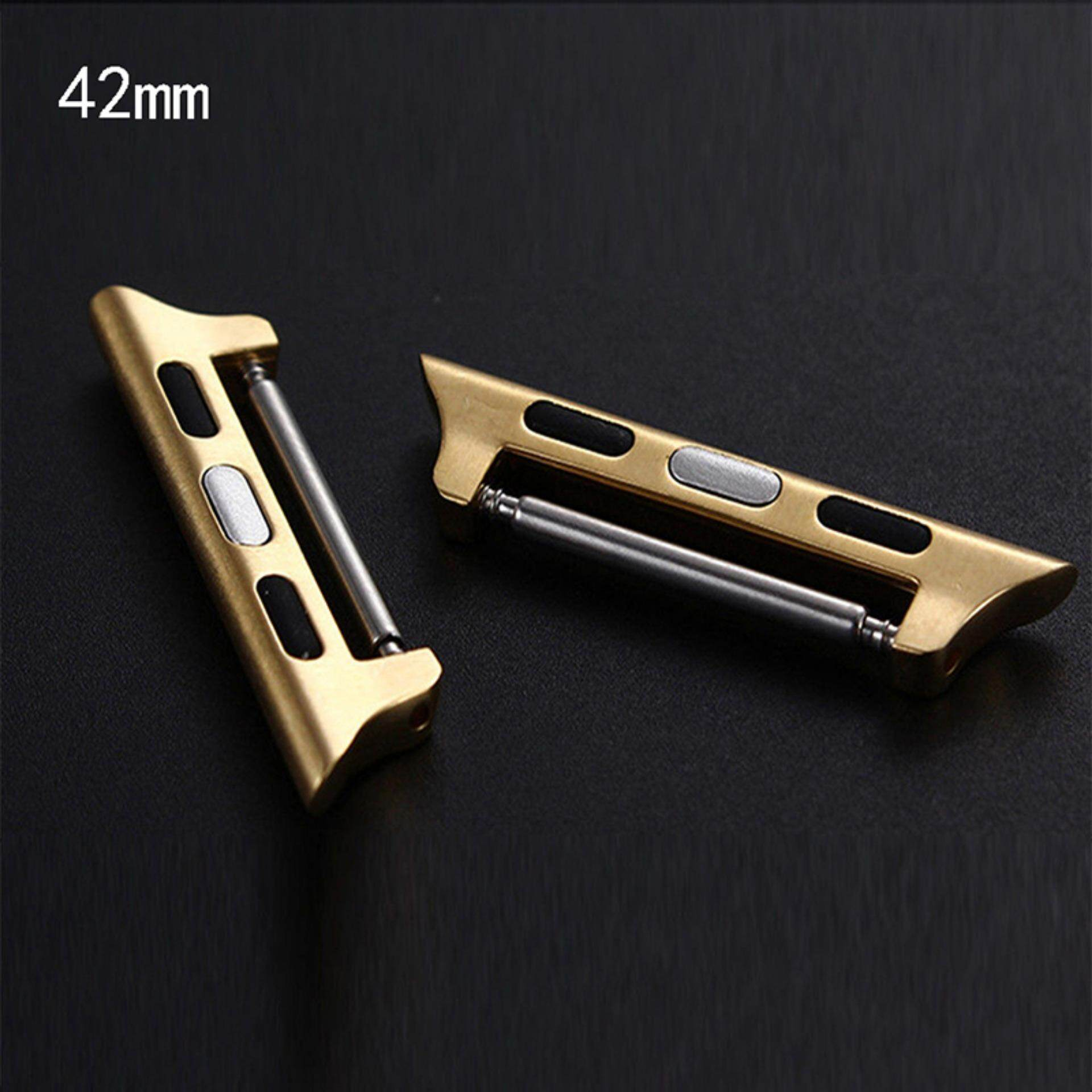 Hình ảnh For Apple Watch IWatch Band Adapter Kits Watchband Strap Connection 38mm 42mm Gold 42mm