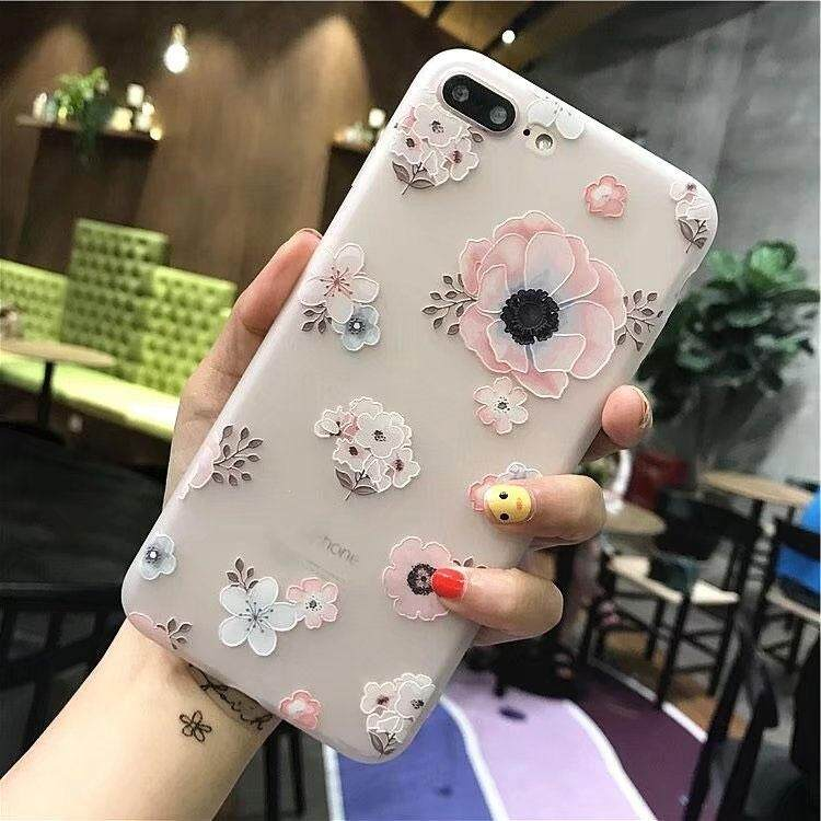 Apple x mobile phone shell iPhone Lucky Cat plus/splus Korean shattered temperament stars with the Hong Kong wind protection sets of lovers cute(Seven)