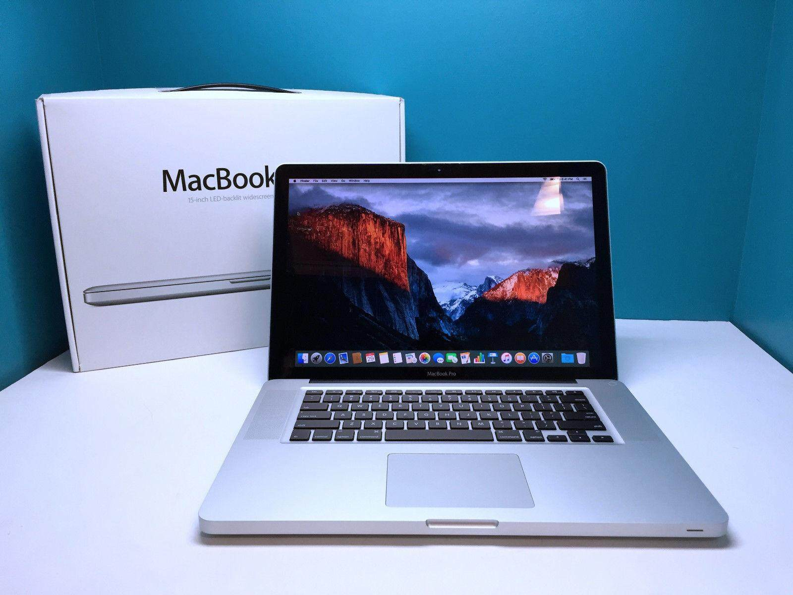 BEST VALUE Macbook Pro 15 Pre-Retina / 500GB / Core 2.53 / Warranty / OSX-2015 Malaysia