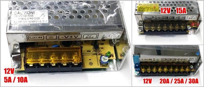 SecurEyes CCTV Alarm Power Supply 12V 5A / 10A / 15A / 20A / 30A Centralize Power Supply