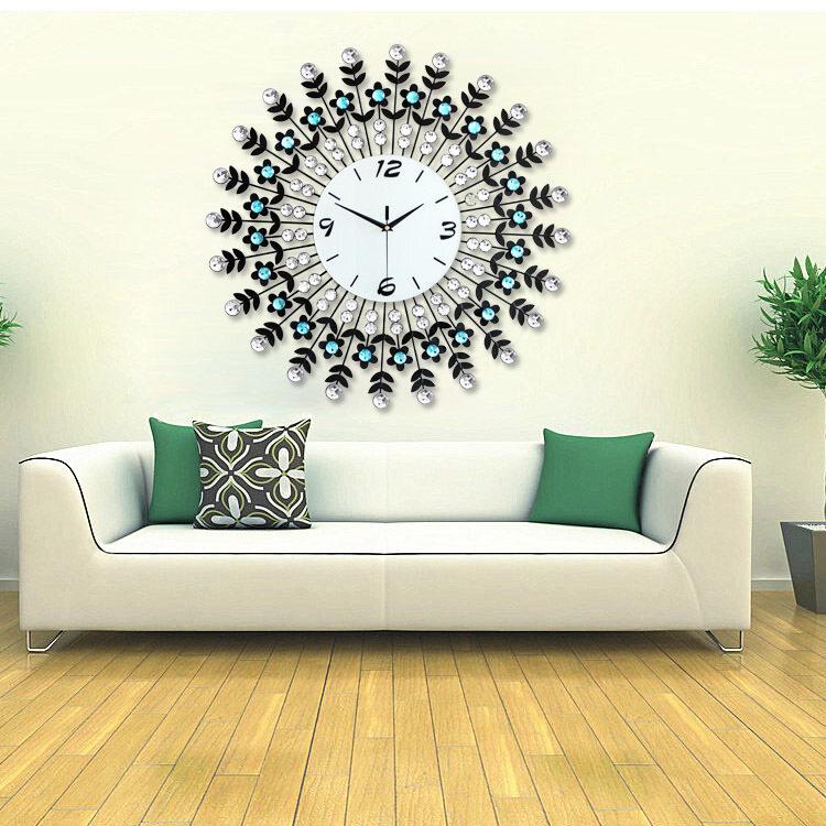 Luxury Decorative Wall Clock Home Decor 60*60 Larger