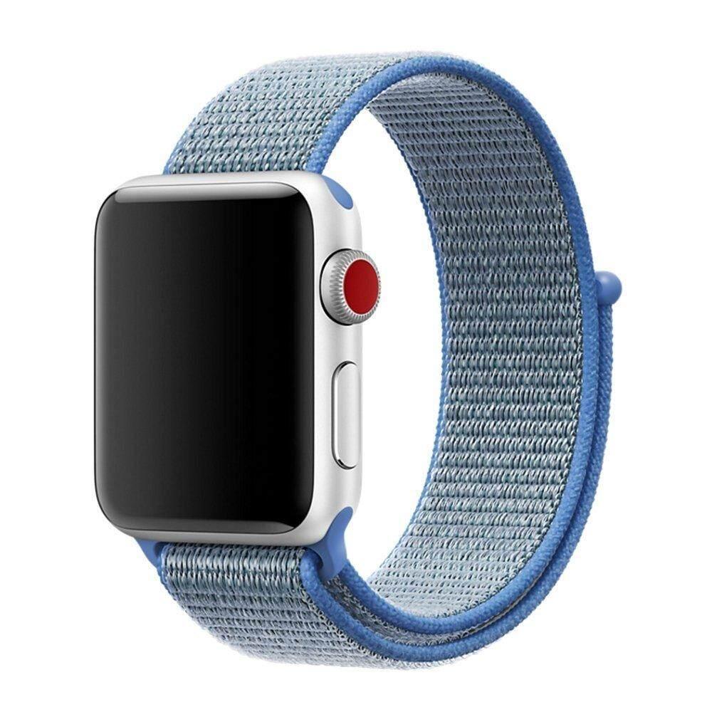 Band untuk Apple Watch Series 3/2/1 38 Mm 42 Mm Nilon Lembut
