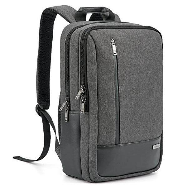 LAPTOP & Tablet Tas Ransel Laptop EOS 17.3 Inch Bisnis Modern Ransel Laptop Sekolah dengan Kantong Aksesori untuk Apple MacBook Air/Pro, samsung Chromebook, HP, Dell, Sony, Toshiba Ultrabook-Intl