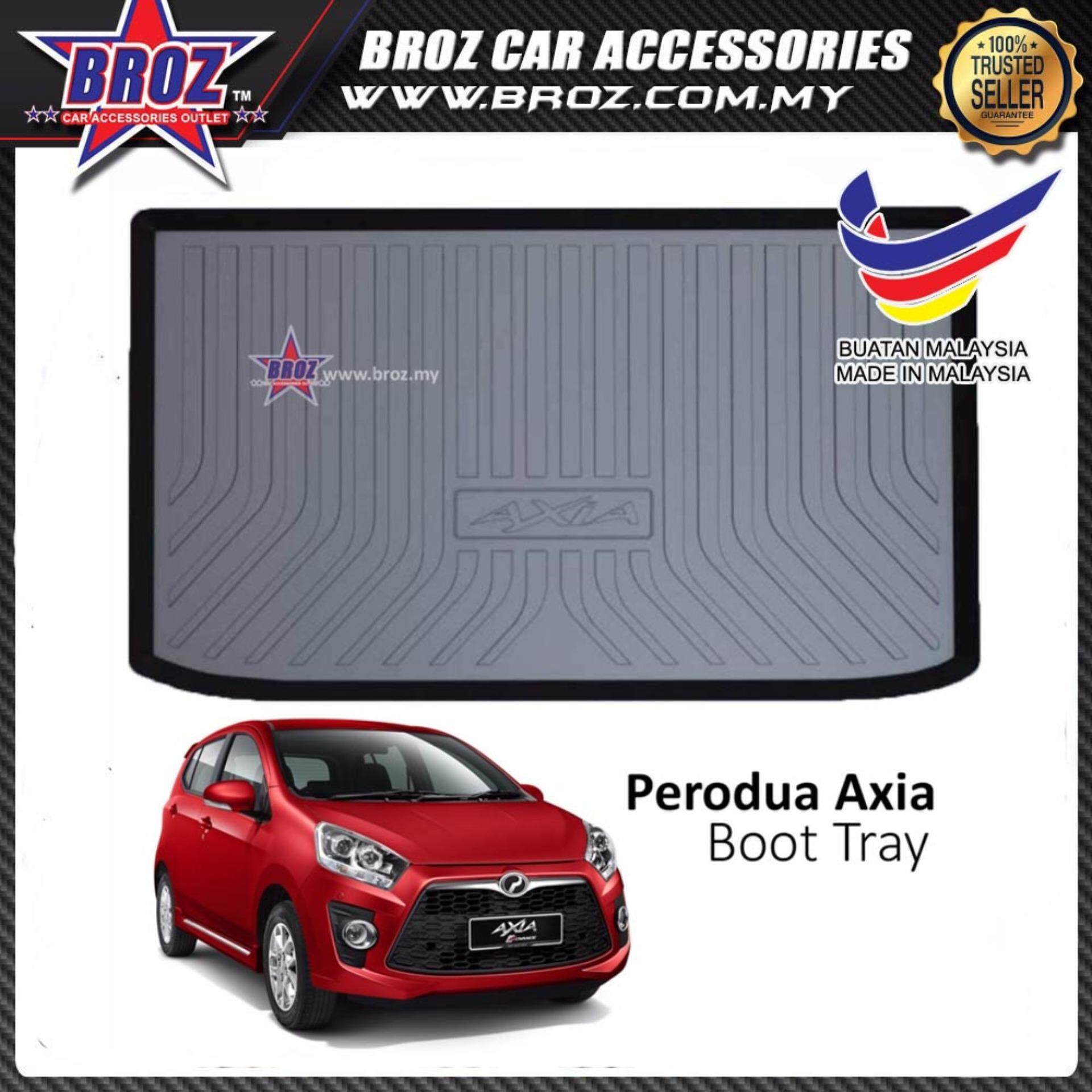 Perodua Axia ABS Car Rear Boot Trunk Tray