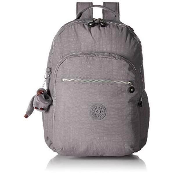 Seoul L Solid Laptop Backpack, Slate Grey - intl