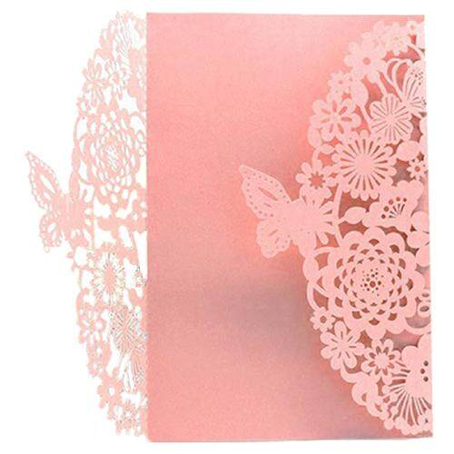 Invitation cards for sale party cards online brands prices 10pcsset delicate carved butterflies romantic wedding party invitation card envelope invitations for wedding stopboris Images